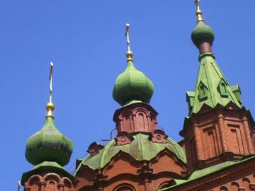 3 купола церкви