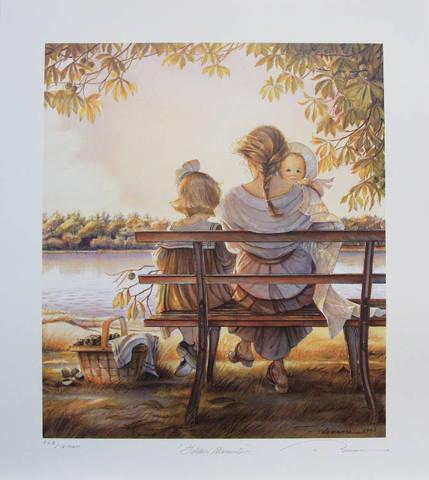 romance-golden-moments-print
