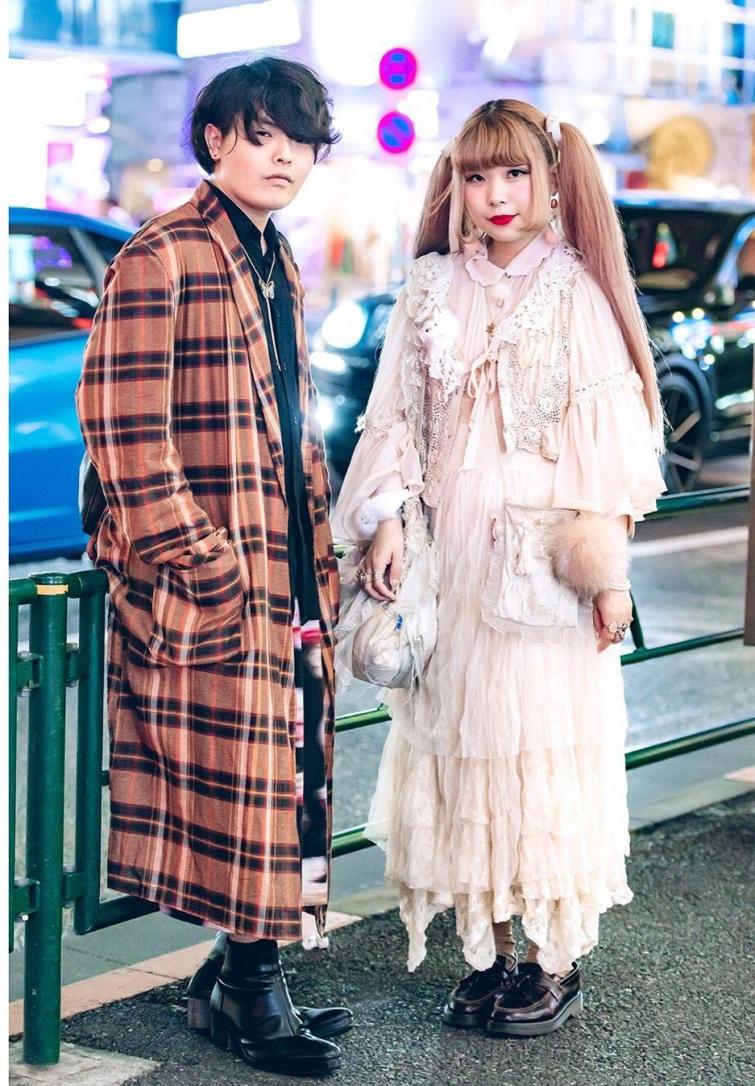 Сумасшедшая мода на улицах Токио, уличная мода Японии