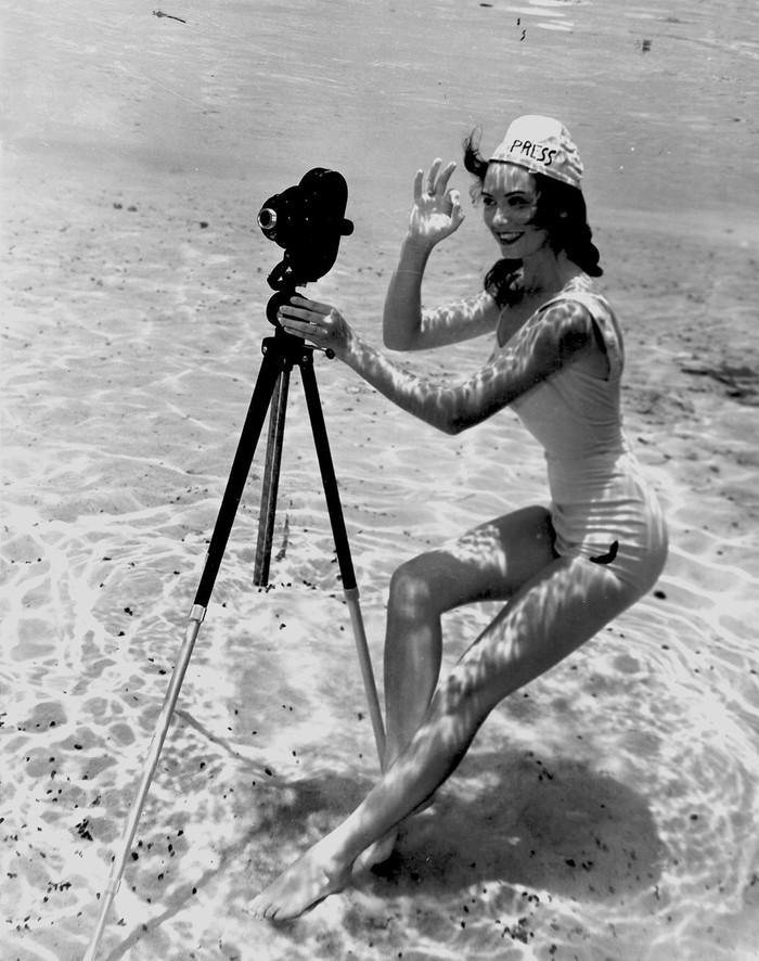 Нежная красота первых подводных фотографий 1930-х годов