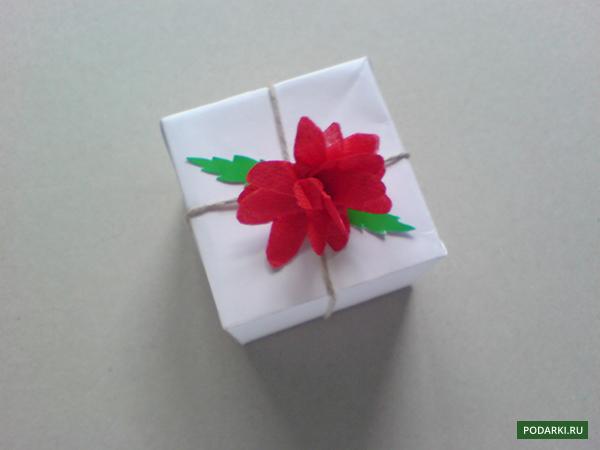 Цветок изсалфетки