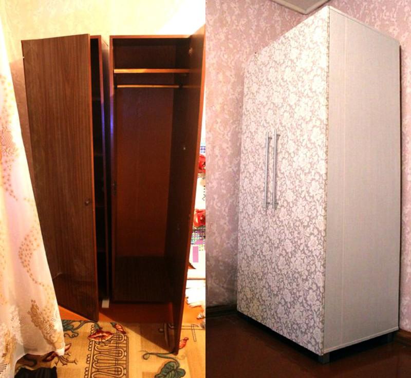 Переделываем старую мебель своими руками фото до и после