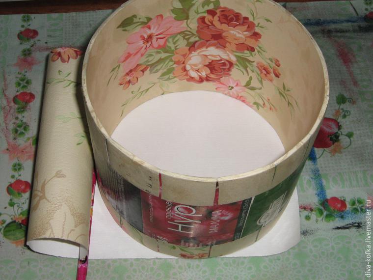 Как сделать круглую коробочку любого размера
