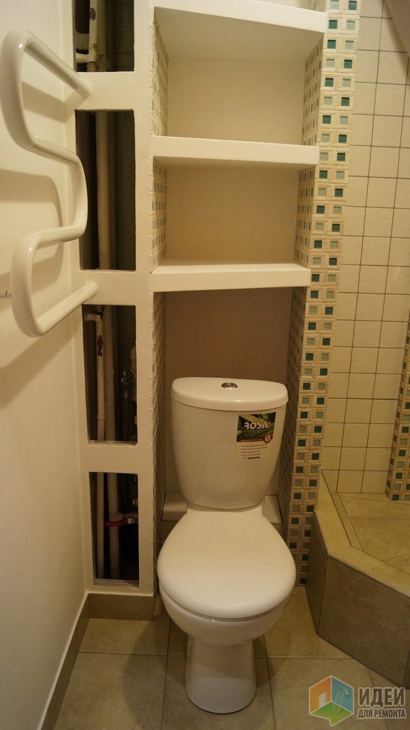 Туалет дизайн ниша