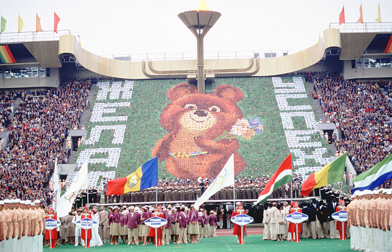 7. Самая большая западная команда Олимпиады - 80 Олимпиада - 80, факты