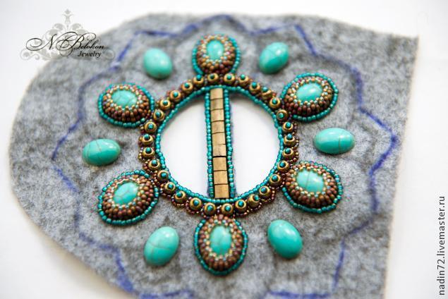 Многофункциональная пряжка: вышивка бисером