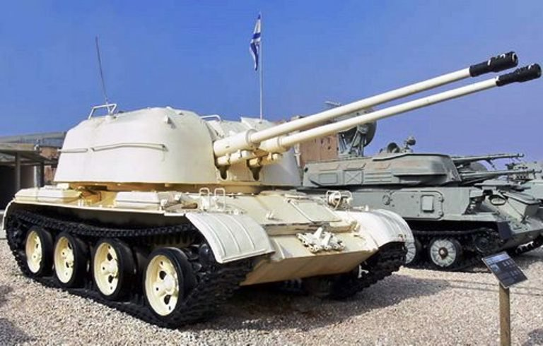 Восстановленный музейный экспонат ЗСУ-57-2 на службе ополченцев Новороссии