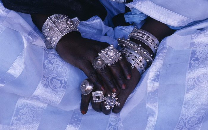 Туареги носят огромное количество украшений