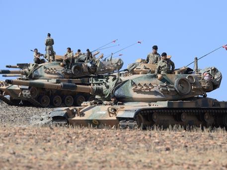 За дрындюлями...Дамаск объявил о начале вторжения Турции в Сирию