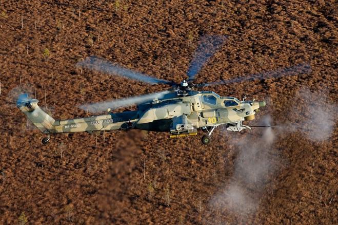 Вертолет Ми-28НЭ — летучий антитанк круглосуточного действия