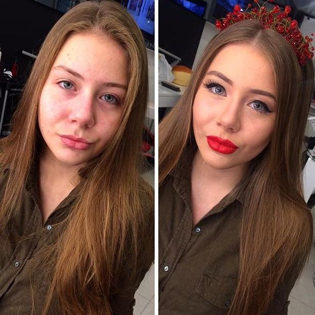 13 веских доказательств того, что макияж творит чудеса. Неужели это один и тот же человек?