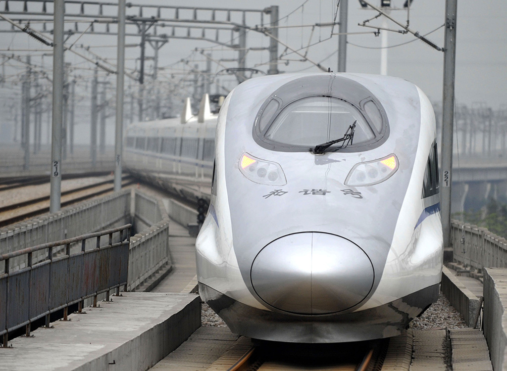Китай предложил построить высокоскоростную магистраль до Владивостока