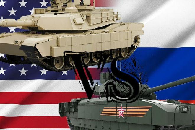 Американский Абрамс против русской Арматы: кто победит