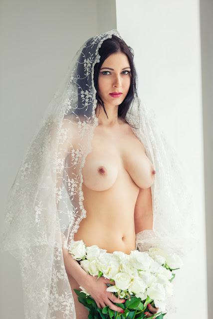 невеста фото ню