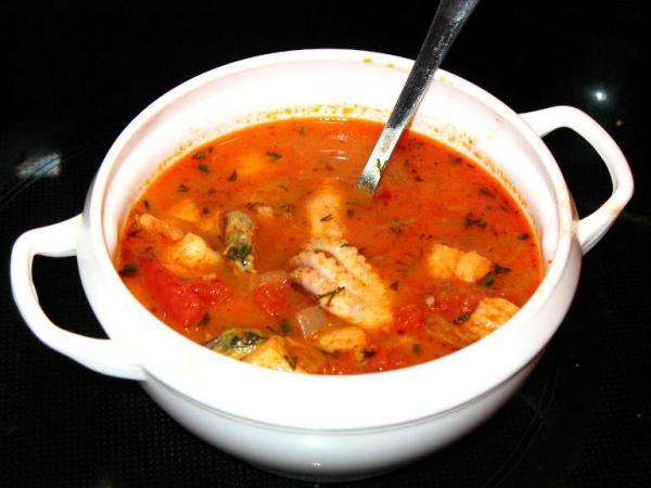 суп из морепродуктов якитории рецепт