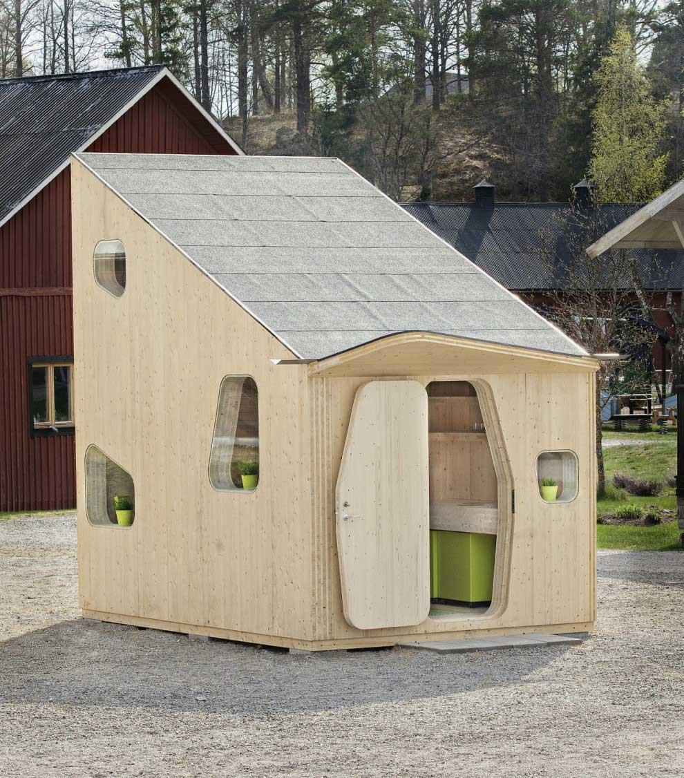 Маленький дом для шведских студентов