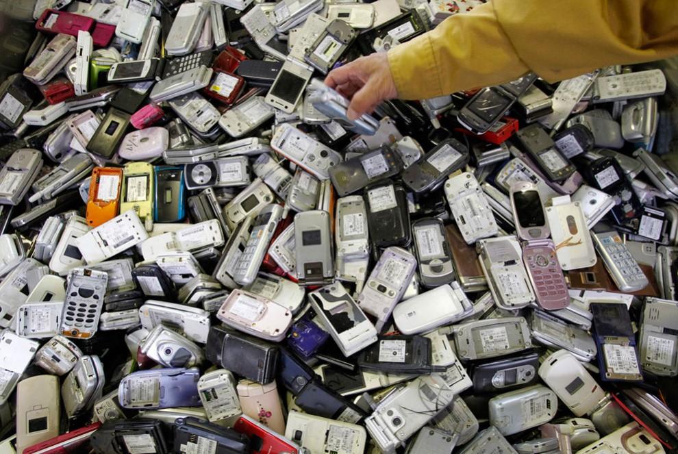 проложить куда девать старые сотовые телефоны всех сладких