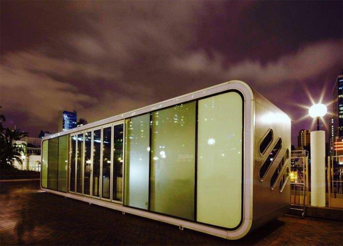 Модульный домик площадью всего 42 кв. метров, который поместится даже на самом узком участке