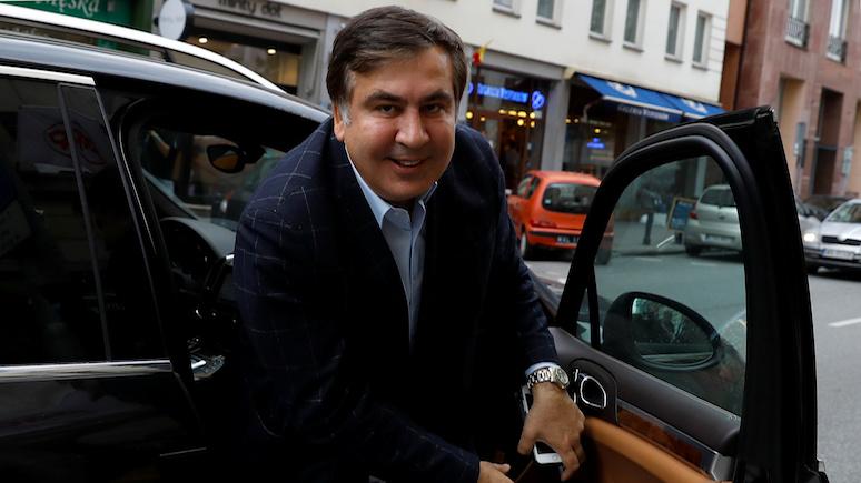 El Mundo: после неудачного переворота на Украине Саакашвили обосновался в Голландии