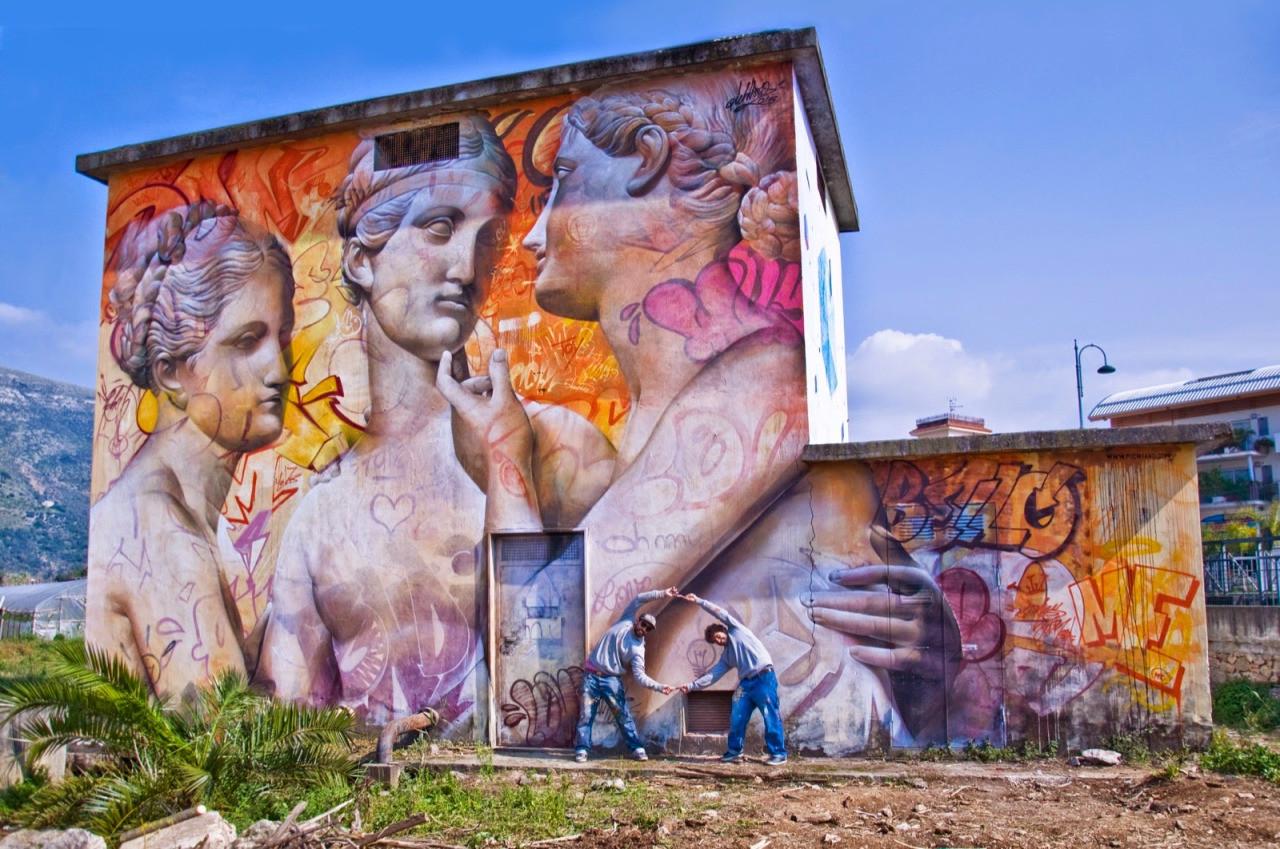 14. Фонди, Италия граффити, стрит-арт, художники