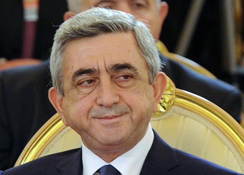 Президент Армении отбудет в Бельгию