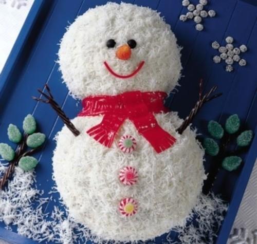 Как съесть снеговика? Салаты и закуски к Новому году