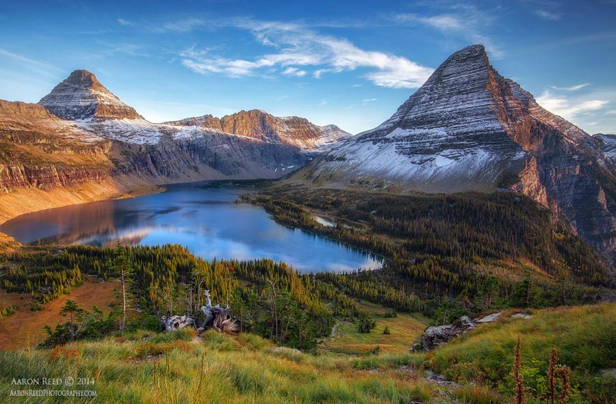 Национальный парк Глейшер - 18 живописных пейзажных фотографий