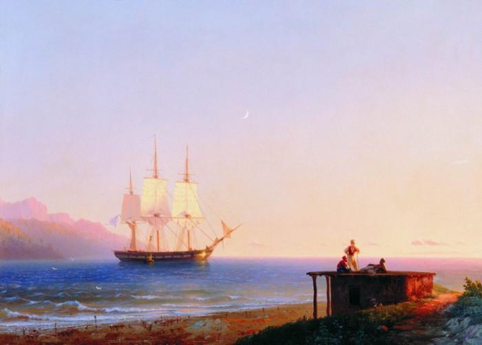 Морское настроение: 15 величественных и эмоциональных шедевров Ивана Айвазовского