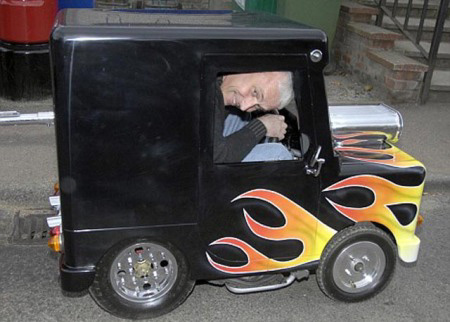 Авто-факт: самый маленький автомобиль в мире весил 59 кг!