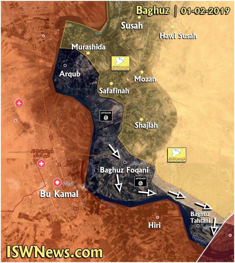 ВВС США бомбили позиции САА под Абу-Кемалем