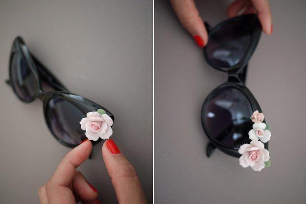 Хенд-мейд в действии: 15 идей для украшения солнцезащитных очков