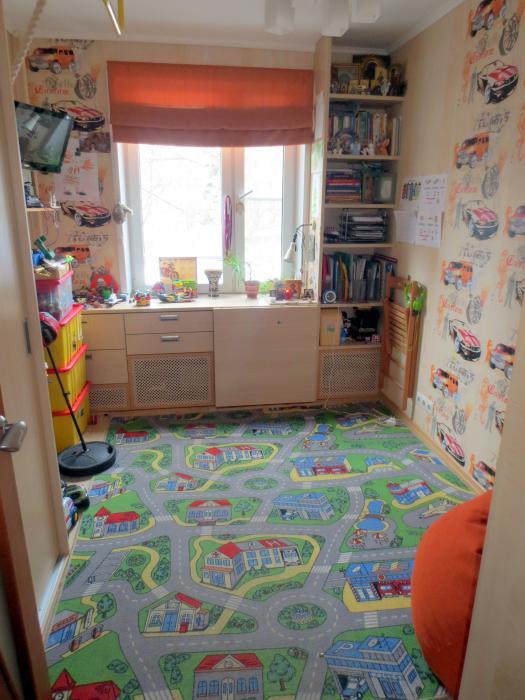Детская комната-трансформер 9 квадратных метров