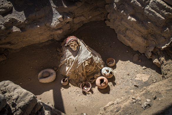 В Перу обнаружили 1000-летнюю мумию