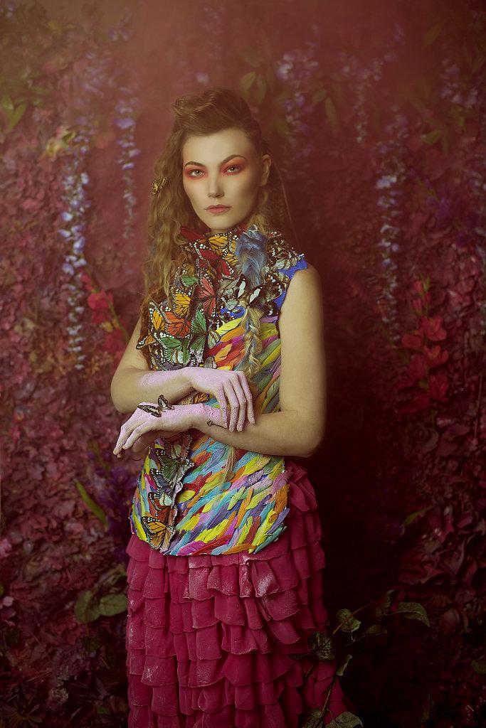 Фотопрект «Таинственный сад». Потрясающие сюрреалистические портреты фотографа Даниэлы Мэджик - 16