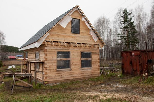 Один опыт строительства дачного дома и  обустройства участка