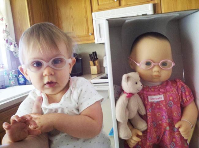 18 детишек, которые выглядят в точности как их куклы