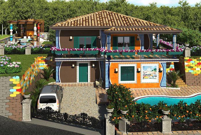 Русская вилла в 135 м² на итальянском побережье
