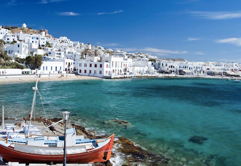 Миконос, Греция  интересное, мир, остров, путешествия