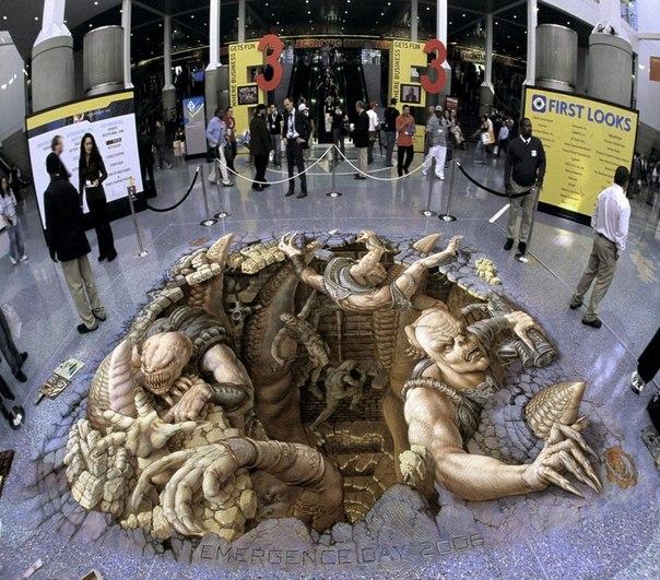 3D-картины художника Курта Вернера