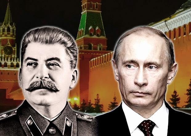 Путин и Сталин.  Сравнительный анализ по состоянию на 2008 год