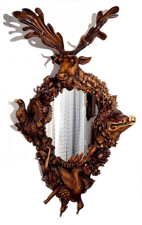Сказочная резьба по дереву от Александра Коняева!