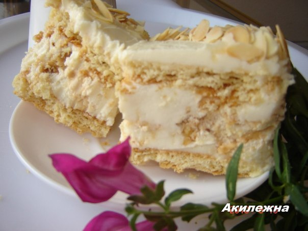 """Невероятно вкусный киевский торт """" Акилежна"""""""