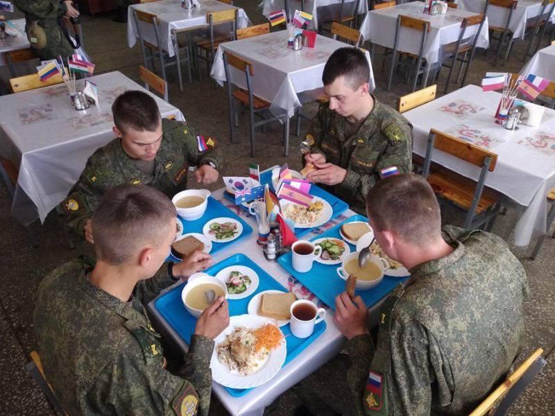 Пятизвёздочная служба. Дни национальной кухни в ВС РФ