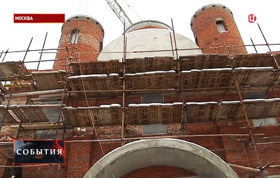 В Москве возвели стены храма в честь воина Феодора Ушакова