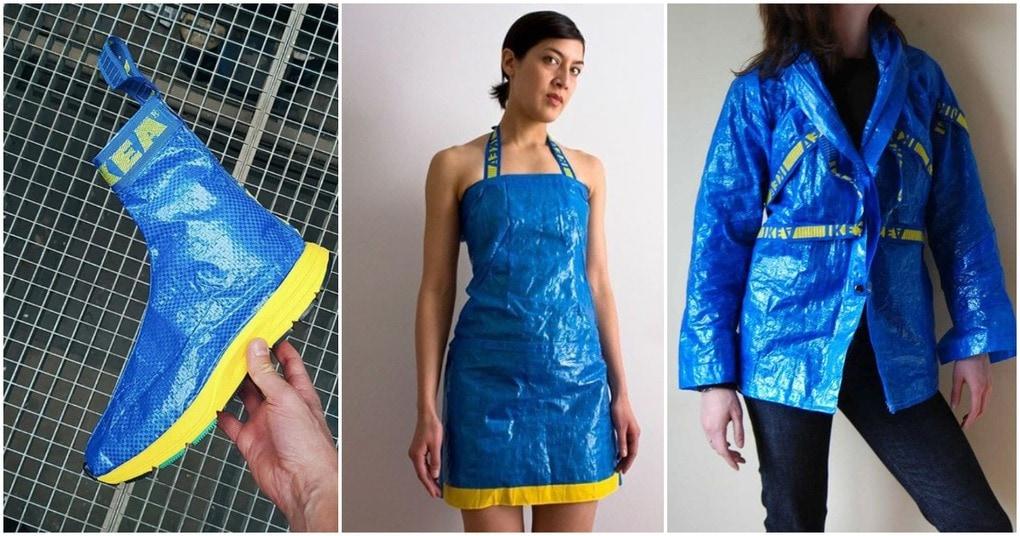 Вещи, которые люди сделали из знаменитой синей сумки IKEA