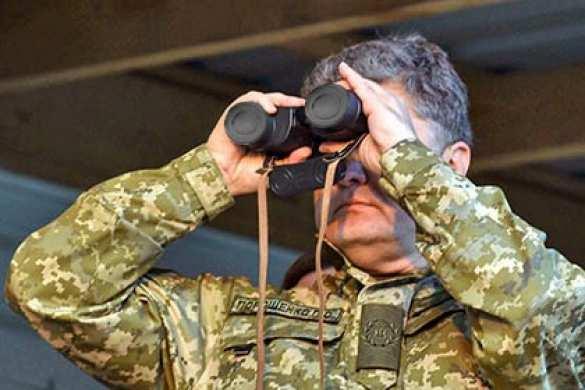 Киевский режим обвинил ополченцев в покушении на Порошенко