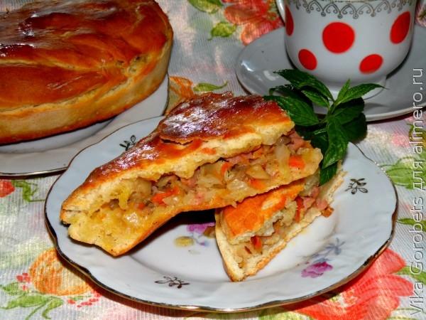 Пироги несладкие в духовке рецепты