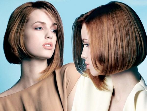 ровные волосы в моде
