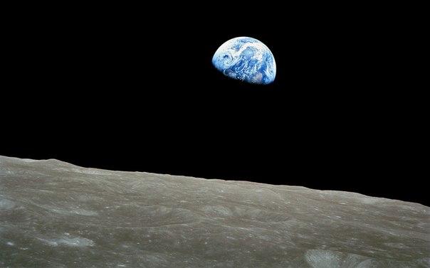 Восход Земли на луне, 1968 год