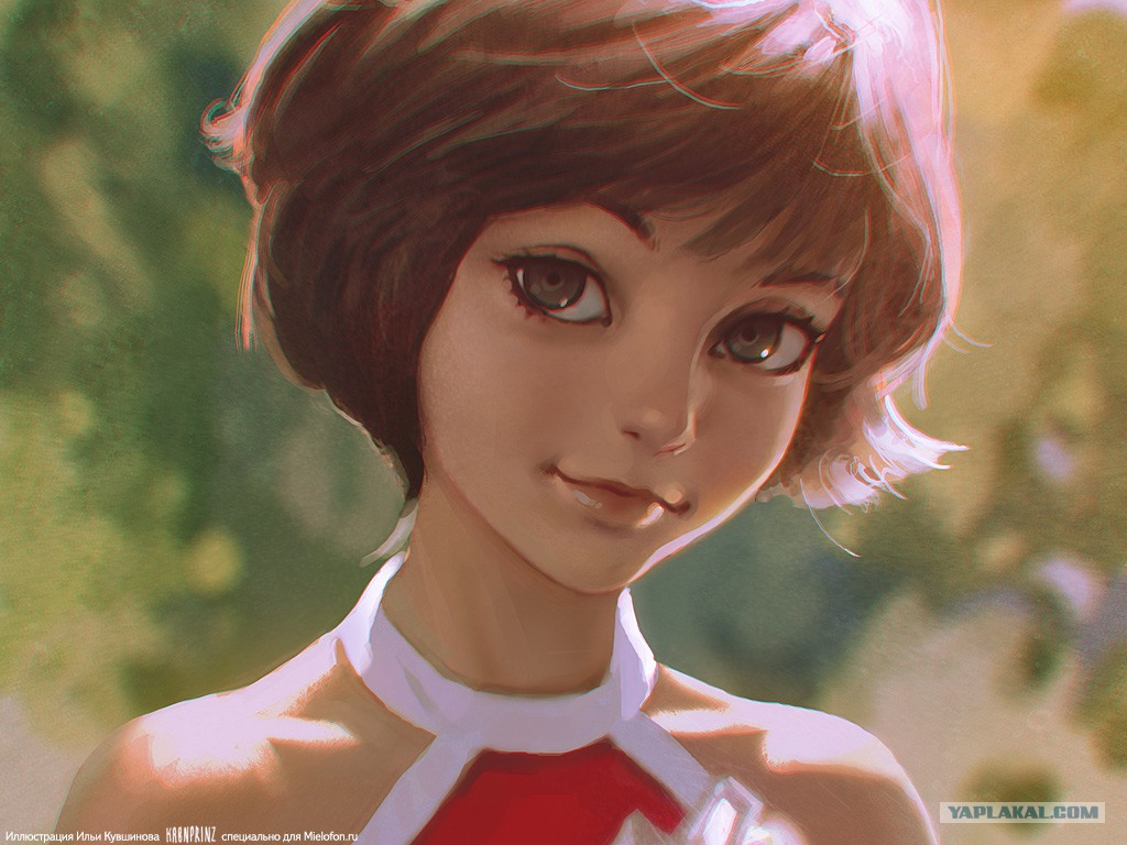 Нарисованная Алиса.